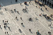 Free Piazza San Marco Royalty Free Stock Photography - 670627