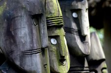 Free Beautiful Wooden Carvings Royalty Free Stock Photography - 671187