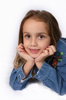 Free Posing Young Girl Stock Photos - 671203