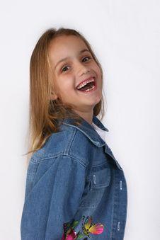 Free Posing Young Girl Stock Photo - 671310