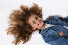 Free Posing Young Girl Stock Photo - 671350