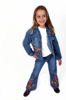 Free Posing Young Girl Royalty Free Stock Photo - 671425