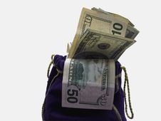 Free Money Bags Stock Images - 671564