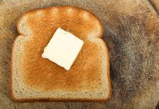 Free Butter Toast Royalty Free Stock Images - 671859