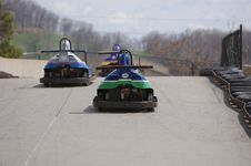 Go Carts Stock Images