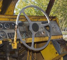 Free Tractor Cab Vintage Stock Photo - 673980