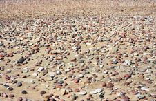 Sand And Stones Stock Photography