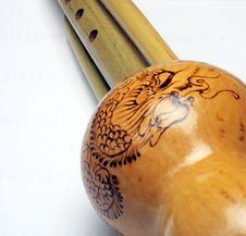 Hulusi. Musical Instrument Huluxiao Stock Photos