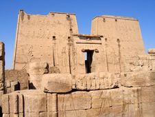 Free Temple Of Edfu Stock Photo - 674490