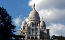 Free Basilica Of The Sacre-Coeur Royalty Free Stock Photo - 675625
