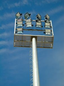 Free Light Tower Royalty Free Stock Photography - 675817