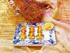 Free Japanese Food Royalty Free Stock Photo - 677085