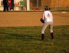 Free Female Softball Player Stock Photos - 677663