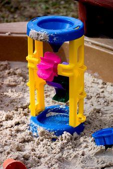 Free Toy In Sandbox Stock Image - 677761