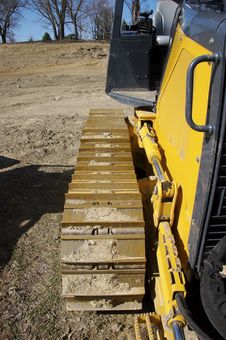 Free Bulldozer Detail Stock Image - 678231