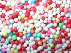 Free Sugar Pearls Royalty Free Stock Images - 678899