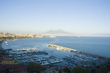 Free View Of Naples, Italy Royalty Free Stock Image - 679136