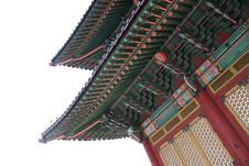 Free Korean Palace Stock Image - 679341