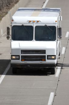 Free Delivery Van Stock Image - 679721