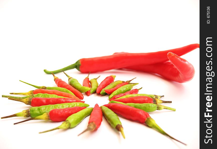 Big and Small Chillies