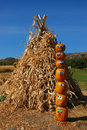 Free Pumpkin Puppets Totem Pole Stock Images - 6703384