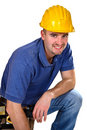 Free Portrait Of Handyman Stock Images - 6706114
