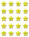 Free Star Emoticon Royalty Free Stock Photo - 6707945