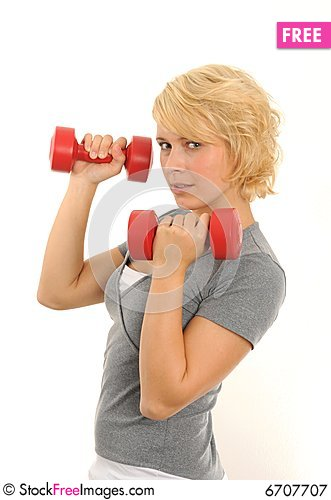 Free Exercise Royalty Free Stock Photography - 6707707
