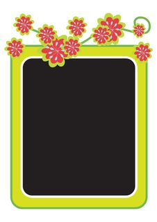 Free Floral Frame - Vector Royalty Free Stock Photos - 6700148