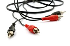 Free Audio  Video  Cable Royalty Free Stock Images - 6700149