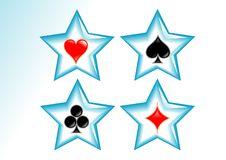 Free Cards Symbol Royalty Free Stock Image - 6700246