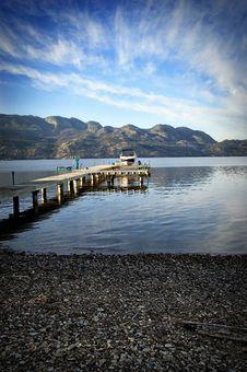 Free Lakeside Dock Royalty Free Stock Photo - 6700355