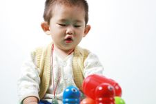 Free Chinese Baby Royalty Free Stock Images - 6700459