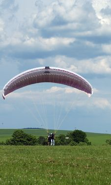 Free Tandem Paragliding Stock Images - 6700464