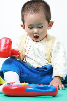 Free Chinese Baby Stock Photography - 6700542