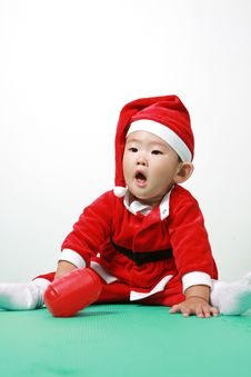 Free Chinese Santa Boy Royalty Free Stock Images - 6700589