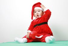 Free Chinese Santa Boy Royalty Free Stock Photo - 6700595
