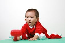 Free Chinese Santa Boy Royalty Free Stock Photography - 6700597