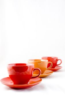 Free Cup And Saucer Isolated Stock Image - 6700621