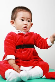 Free Chinese Santa Boy Royalty Free Stock Images - 6700629
