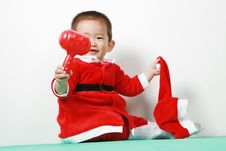Free Chinese Santa Boy Stock Photos - 6700643