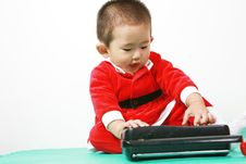 Free Chinese Santa Boy Royalty Free Stock Photo - 6700745