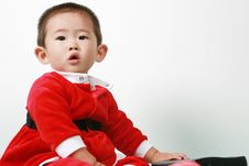 Free Chinese Santa Boy Royalty Free Stock Photo - 6700755