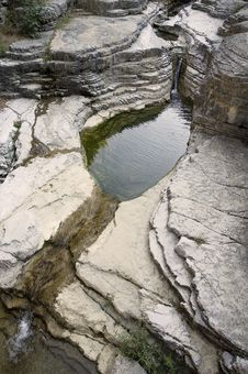 Free Erosion Lake Royalty Free Stock Photography - 6701287