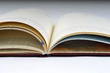 Free Blank, Opened Agenda Royalty Free Stock Image - 6701356