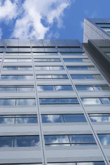 Free Glass Building Royalty Free Stock Image - 6701756