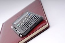 Free Agenda, Pen And Calculator Royalty Free Stock Photo - 6701925