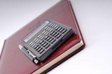 Free Agenda, Pen And Calculator Royalty Free Stock Photo - 6701925