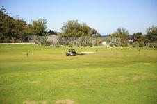 Free Golf Driving Range Royalty Free Stock Image - 6701966
