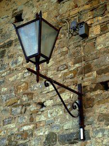 Free Lamp On A Wall Stock Photo - 6701980